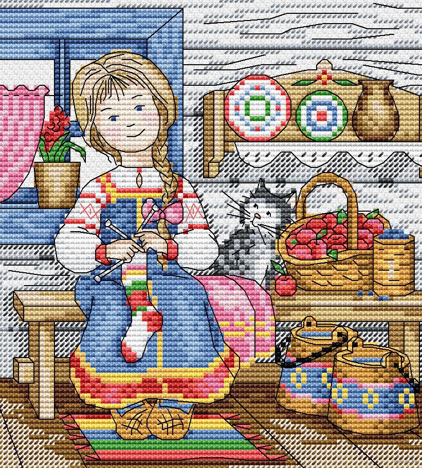 ИСКУСНИЦА - производство наборов для вышивания крестом 23