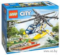 """LEGO. City. """"Погоня на полицейском вертолете"""""""