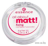 "Компактная пудра ""All about matt! Fixing"" (8 г)"