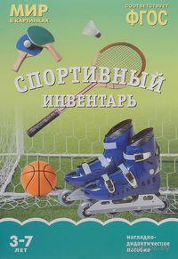 Спортивный инвентарь. Наглядно-дидактическое пособие. Для детей 3-7 лет. Т. Минишева