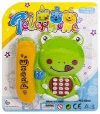 """Музыкальная игрушка """"Телефон. Лягушонок"""" (со световыми эффектами)"""