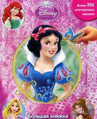 Принцессы. Большая книжка с наклейками