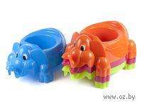 Горшок детский пластмассовый (14х25х40 см)
