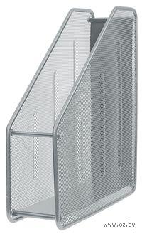 Подставка для бумаг вертикальная (серебряная)