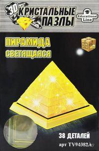 "Пазл ""3D Crystal Puzzle. Пирамида"" (38 элементов)"