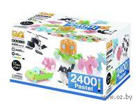 "Конструктор ""LaQ. Basic 2400 Pastel"" (2400 деталей)"