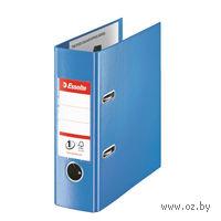 Папка-регистратор А5 с арочным механизмом (синяя)