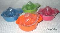 Выжималка для цитрусовых пластмассовая (14х10 см)