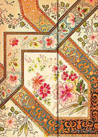 """Еженедельник Paperblanks """"Филигранный цветочный рисунок. Слоновая кость"""" на 2016 год (формат: 130*180 мм, средний)"""