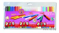 Набор фломастеров 3 в 1 (30 цветов; 10 х Standard, 10 х Brush, 8+2 Magic)