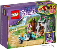 "LEGO. Friends. ""Джунгли: Мотоцикл скорой помощи"""