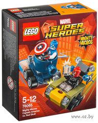 "LEGO Super Heroes ""Капитан Америка против Красного Черепа"""