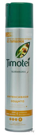 """Лак для волос Timotei """"Интенсивная защита"""" (300 мл)"""