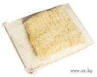 Рукавица массажная из сизаля, со щеткой (13*17 см)