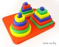 "Развивающая игрушка ""Пирамида. Набор"""