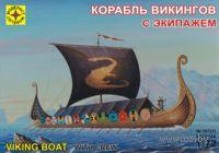 Корабль викингов с экипажем (масштаб: 1/72)