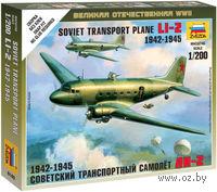 Советский транспортный самолет Ли-2 (масштаб: 1/200)
