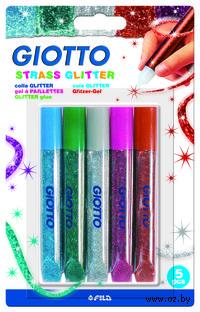 """Клей с блестками """"GLITTER GLUE STRASS"""" (5 цветов)"""