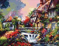 "Картина по номерам ""Викторианский дом"" (400x500 мм; арт. MG009)"