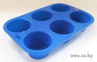 Форма для выпекания силиконовая (24х16,5х3,8 см)