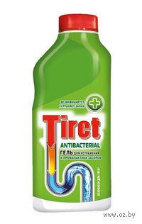 """Средство для прочистки канализационных труб Tiret """"Антибактериальный"""" (500 мл)"""