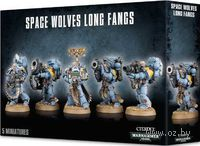 "Набор миниатюр ""Warhammer 40.000. Space Wolves Long Fangs"" (53-15)"