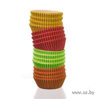 Набор форм для выпекания кексов бумажных (100 шт.; арт. 44KF75C)