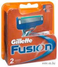 Кассета для станков для бритья Gillette FUSION (2 штуки)