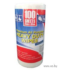 Набор тряпок для уборки текстильных в рулоне (100 шт, 25*30 см)