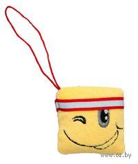 """Мягкая игрушка-брелок """"Подмигивающий смайлик"""" (6 см)"""