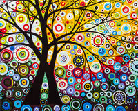 "Картина по номерам ""Денежное дерево"" (400х500 мм; арт. PC4050090)"