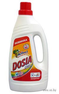 Гель для стирки Dosia Active 3 Color (1 л)
