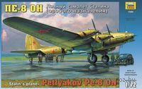 Личный самолет Сталина Пе-8 ОН (масштаб: 1/72)