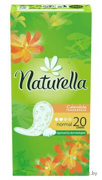 Женские гигиенические прокладки на каждый день NATURELLA Calendula Tenderness Normal (20 штук)
