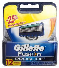 Сменные кассеты для бритья Fusion Proglide (12 шт.)