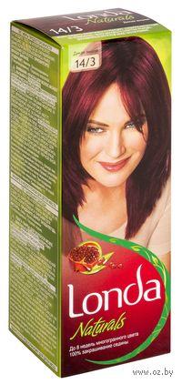 """Стойкая крем-краска LONDACOLOR Naturals """"14/3-Дикая вишня"""""""