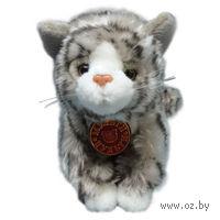 """Мягкая игрушка """"Котенок серый"""" (17,5 см)"""