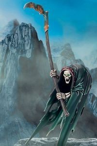 "Миниатюра ""Warhammer FB. Vampire Counts Cairn Wraith"" (91-32)"