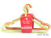 Набор вешалок для одежды металлических (10 шт, 39,5 см)