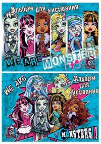"""Альбом """"Monster High"""" (А4; 20 листов; арт. MH80/2)"""