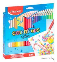 """Цветные карандаши """"Color Peps"""" (48 штук)"""
