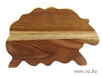 Доска разделочная деревянная (28,5*19*1,3 см, арт. 4610001)