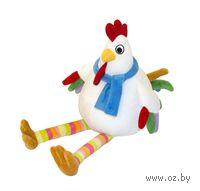"""Мягкая игрушка """"Цыпленок Петя с шарфиком"""" (20 см)"""