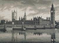 """Вышивка крестом """"Лондон"""""""