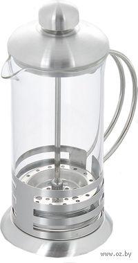 Кофейник с прессом, стекло/металл, 350 мл (арт. YM-001/350)