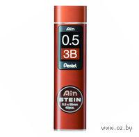 "Грифели для автоматического карандаша ""Pentel AIN STEINE"" (Твердость: 3B; 0,5 мм)"