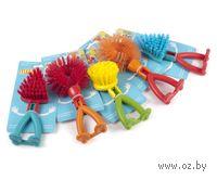 Щетка для мытья посуды пластмассовая (19*8*4 см, арт. CY4651680)
