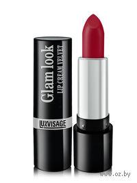 """Помада для губ """"Glam look cream velvet"""" (тон: 311, рубиновое искушение)"""