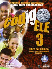 Codigo ELE 3. Libro del alumno (+ CD)