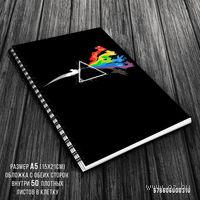 """Блокнот в клетку """"Pink Floyd"""" A5 (310)"""